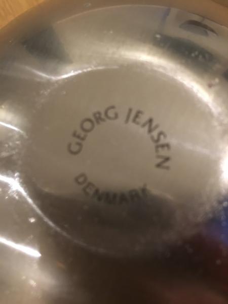 Georg Jensen Bloom blank skål
