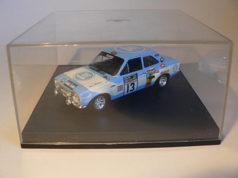 Modelbil - Pile Alle 1 Ramsing - Ford Escort mk.1. RS 1600. 1/43 Rac.rally 1973 Med original box. en lille fejl på frontklap, se billede - Pile Alle 1 Ramsing