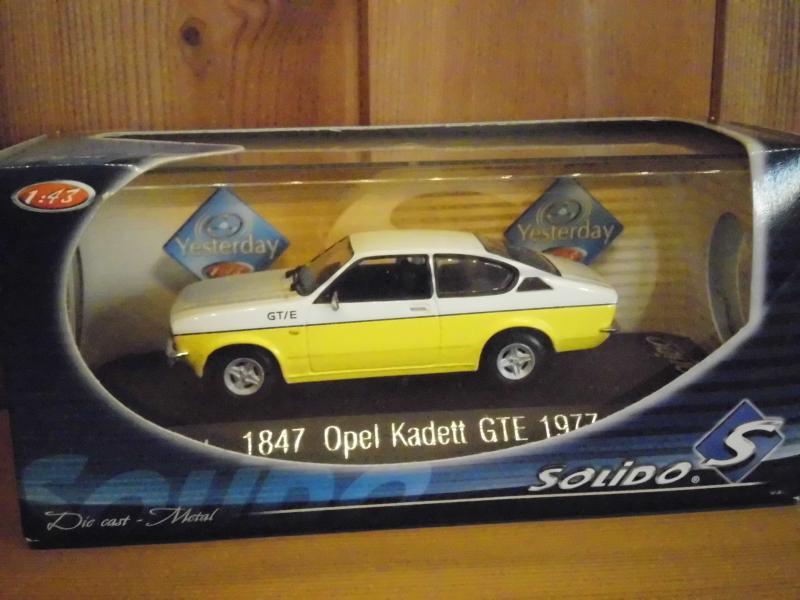 modelbil - Pile Alle 1 Ramsing - Opel Kadett GTE 1977 solido 1/43 ( Som ny ) - Pile Alle 1 Ramsing