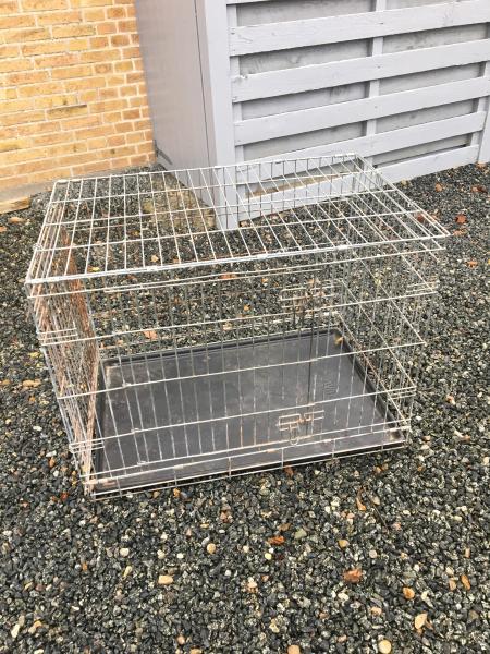 Hundebur - Borgergade 9.a - Hundebur. Længde 95 cm Højde 70 cm Bredde 65 cm - Borgergade 9.a