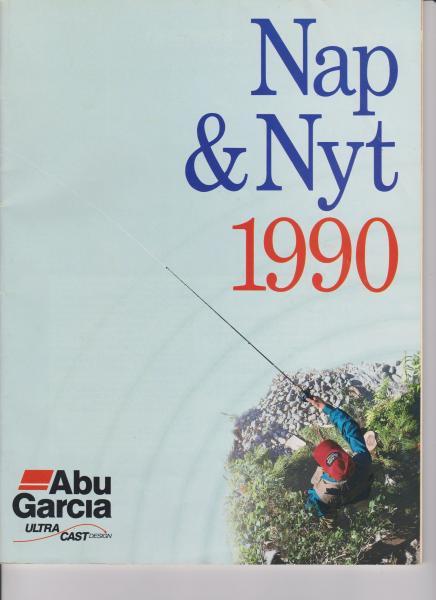 ABU Nap og nyt - Pile Alle 1 Ramsing - Fra 1990, 80 sider i meget pæn stand - Pile Alle 1 Ramsing