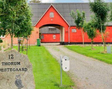 STORT sommerhus ved Limfjorden, til 26 personer