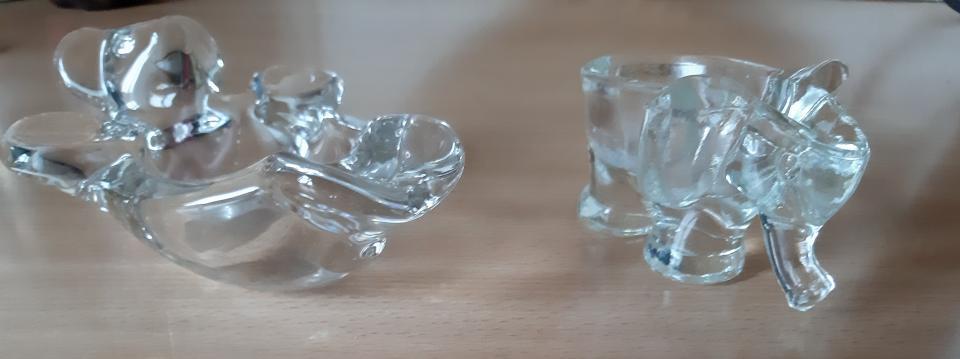 2 glas dyr