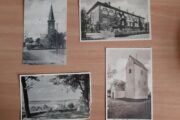 4 antikke postkort fra Skive