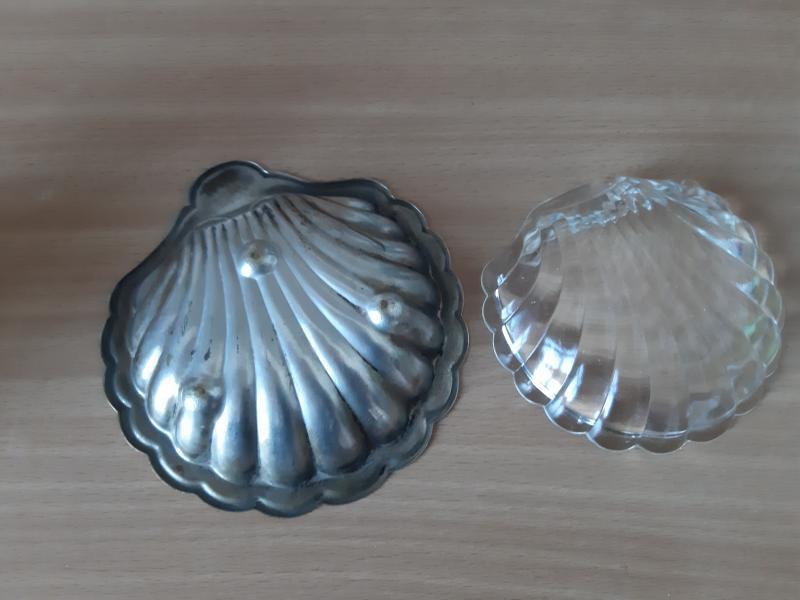 Plet sølv musling