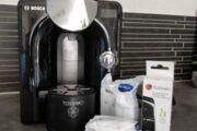 Kapsel kaffemaskine.