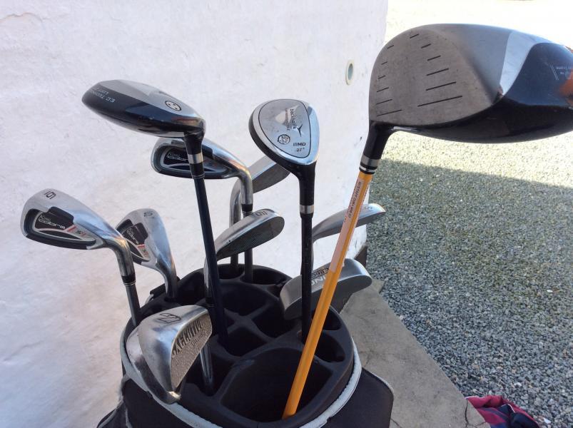 Herre golfsæt