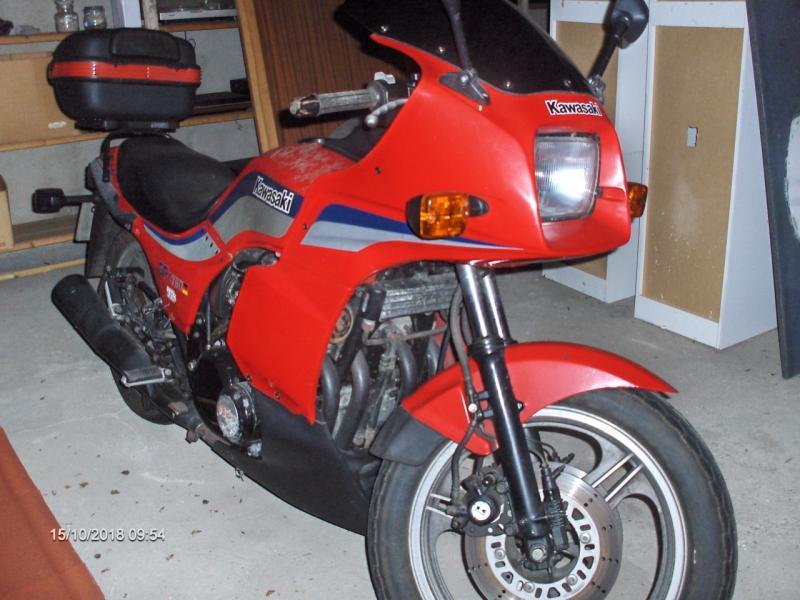 Kawasaki GPZ 750 ccm