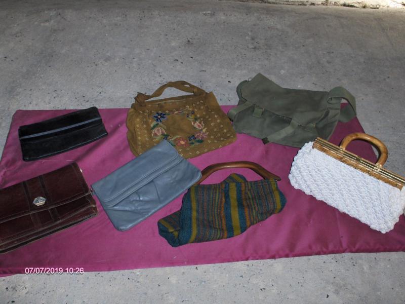 Retro dametasker