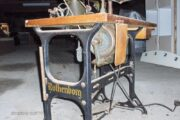 Fritstående symaskine