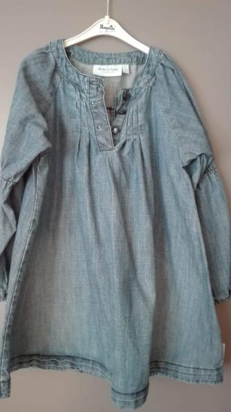 børne jeanskjole - Granvej 7 - Jeg sælger børne jeans kjole. - Granvej 7