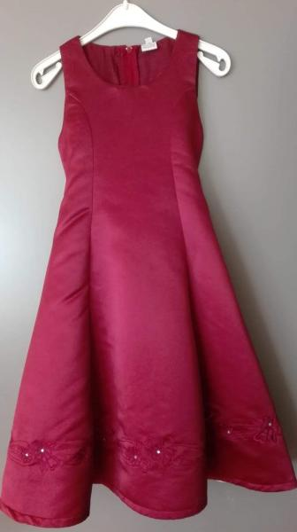 røde festkjole