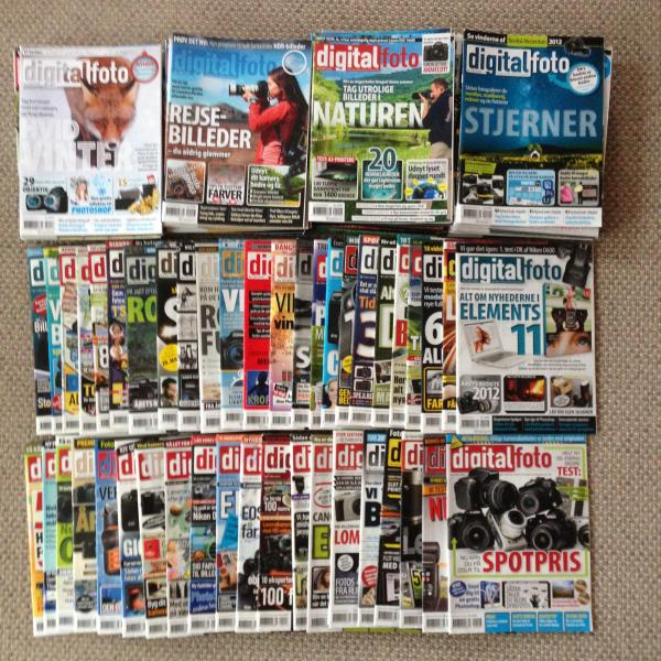 110 gamle blade Digital Foto