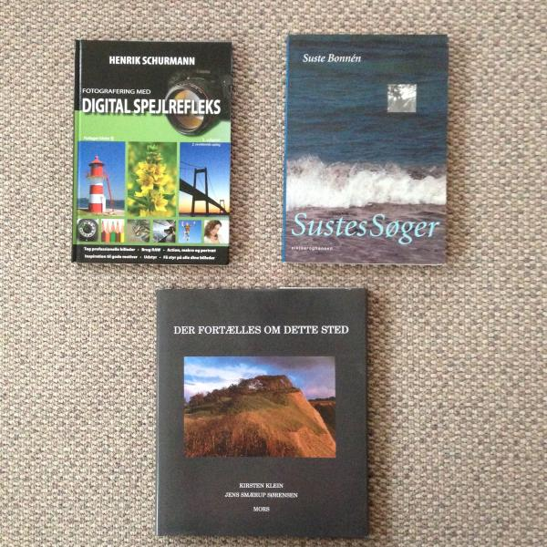 3 bøger om foto