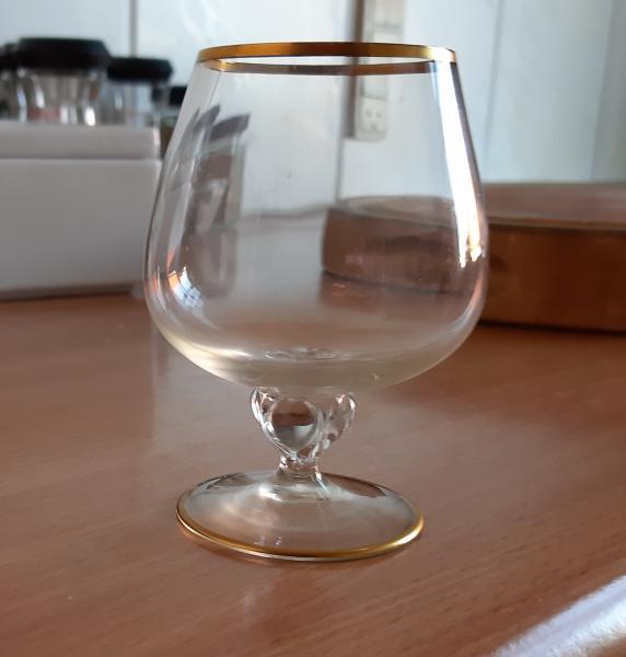 6 stk Lyngby/Holmegaard glas