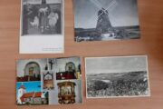 4 postkort fra lokal området