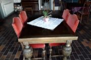 Spisebord m/4 stole