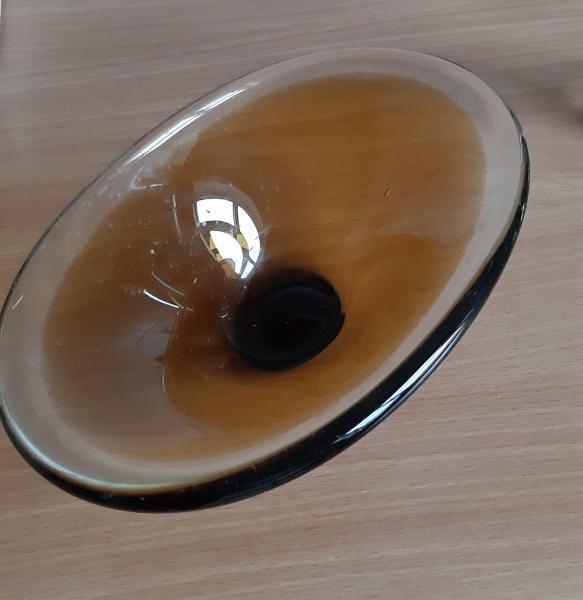 Oval Holmegaard skål
