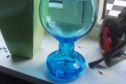 Lysblå vase
