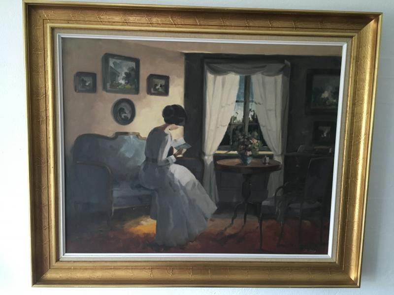 Maleri af Bente Berg