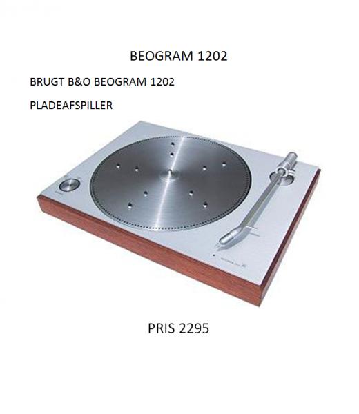 B&O BeoGram 1202