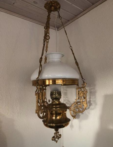 Antik lampe