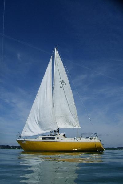 Sejlbåd, 27 fod. NY PRIS!