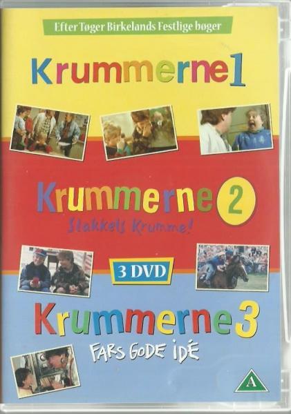 3 børne DVD-boxe