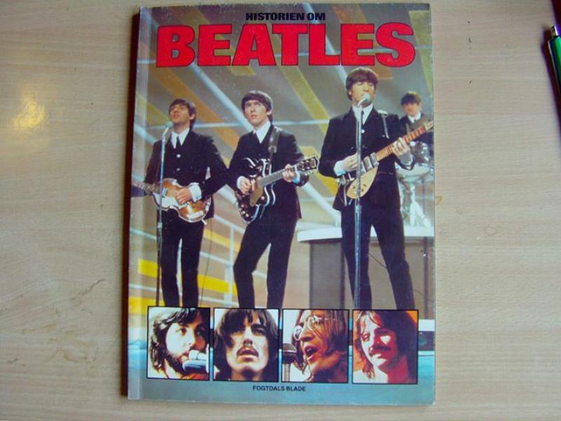 3 bøger med Beatles
