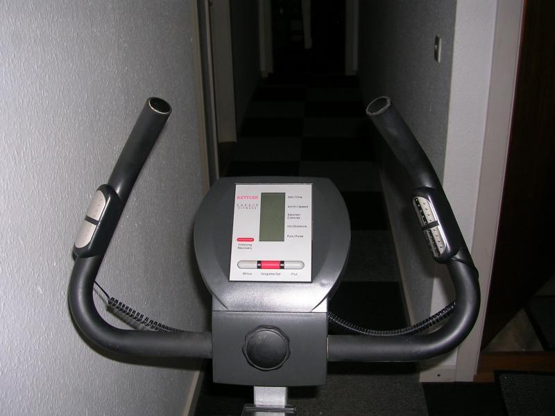 Motionscykel Kettler til salg - Margretevej 21 - Velholdt motionscykel sælges. Bliver aldrig brugt mere. - Margretevej 21