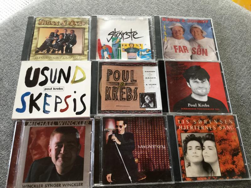 Blandede cd