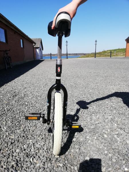 Et-hjulet cykel