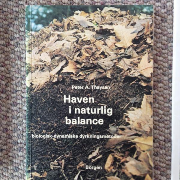 Bøger om haven og andet