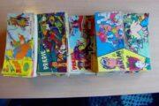 158 Gamle tegneserieblade