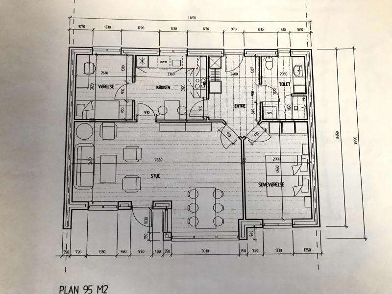 Andelsbolig 95 m2