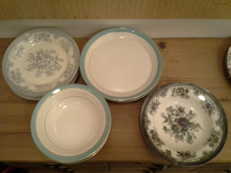 Masse af diverse porcelæn
