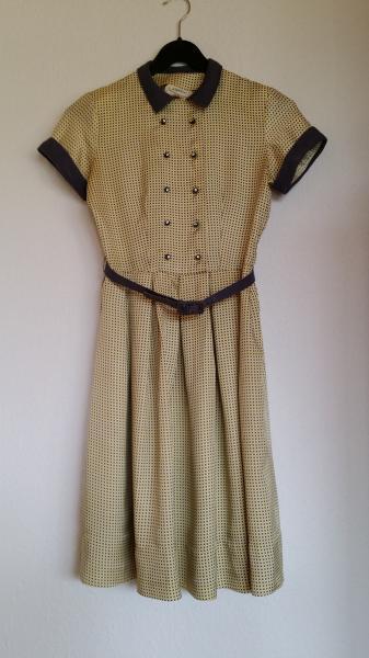98f323dbeb32 Saks Fifth Avenue kjole - Viborg - Suqy Brooks model fra 1950 èrne str. 12