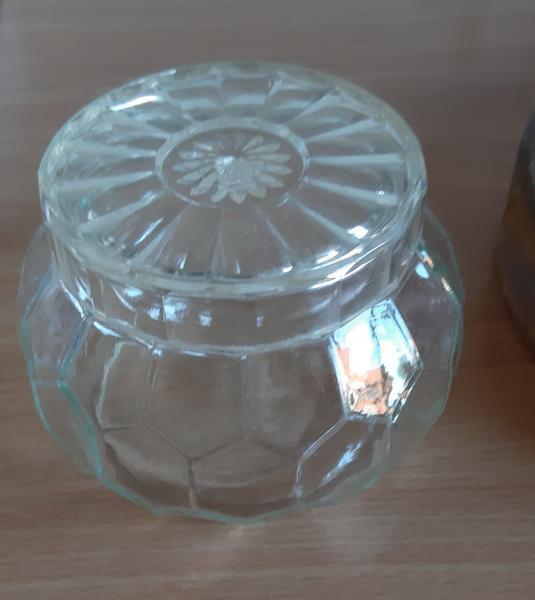 Honning krukke fyns glas
