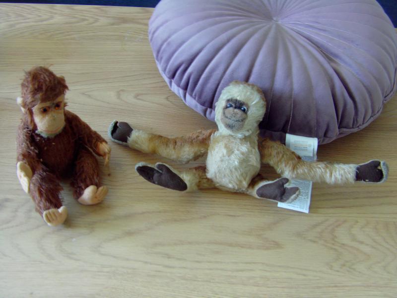 2 små gamle aber