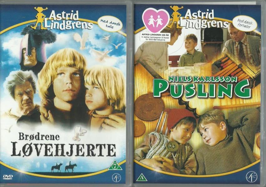 Astrid Lindgreen-DVDere