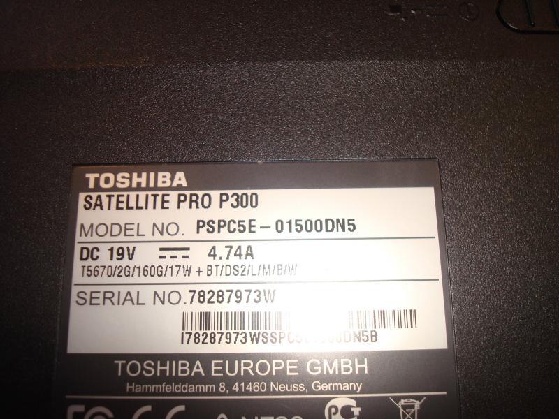 Toshiba pro 300
