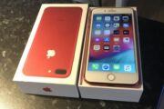 iphone 7 plus 128 gb rød