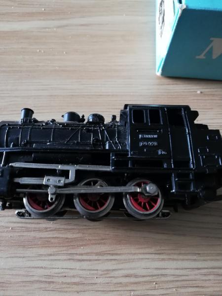 Märklin damplokomotiv SÆLGES