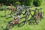 Blandede cykler.
