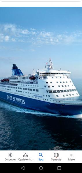 DFDS MINICRUISE SÆLGES