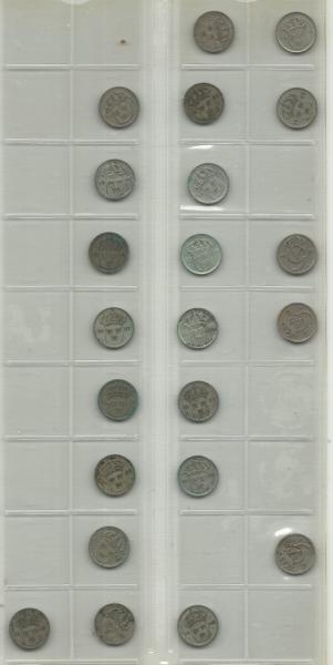 Gamle svenske mønter 01