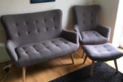 Sofa og stol