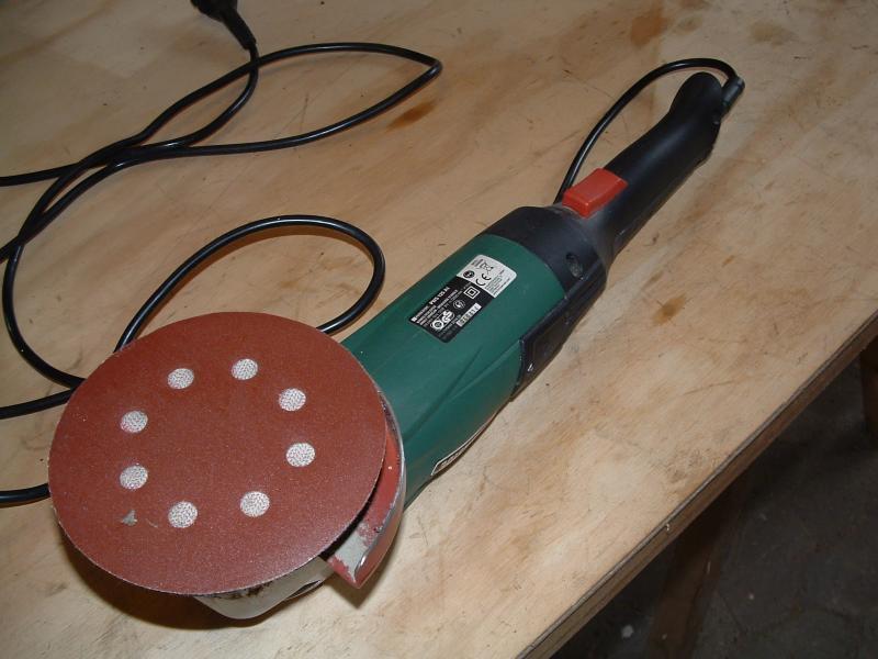Vinkelsliber Poler maskine - Solvang 3,durup - Variabel hastighed. - Solvang 3,durup