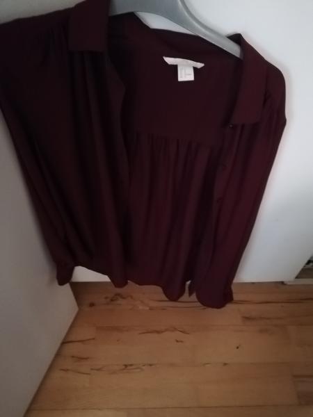 Flot skjorte SÆLGES