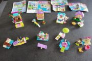 8 sæt Lego Friends
